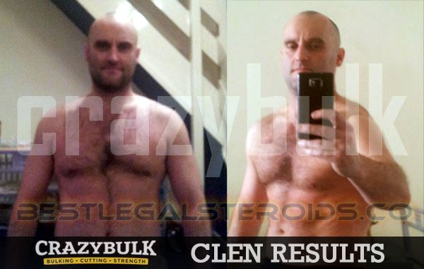 crazy bulk clenbutrol results, Ian legal steroids clenbuterol user results before after