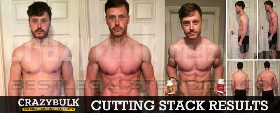 crazy bulk cutting stack result john miller legal steroids user before after