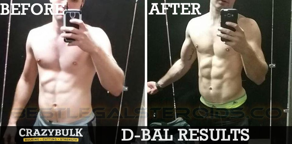 crazy bulk dbal results donovan legal steroids user before after