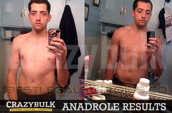 crazy bulk results anadrole allan legal steroids user before after