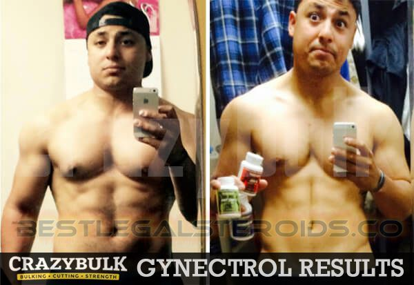 crazy bulk results gynectrol legal steroids user before after