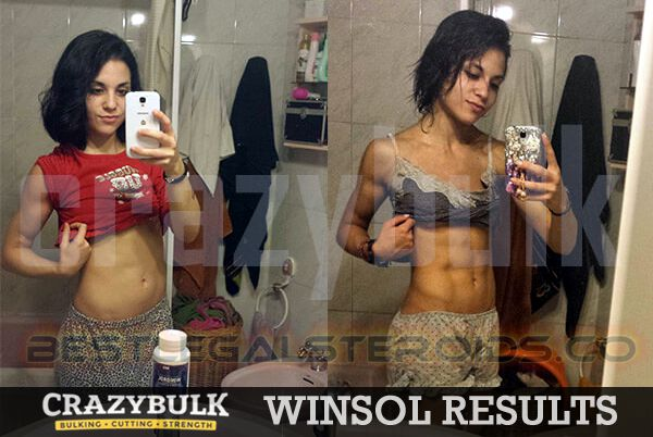 crazy bulk results winsol veronica legal steroids women user before after