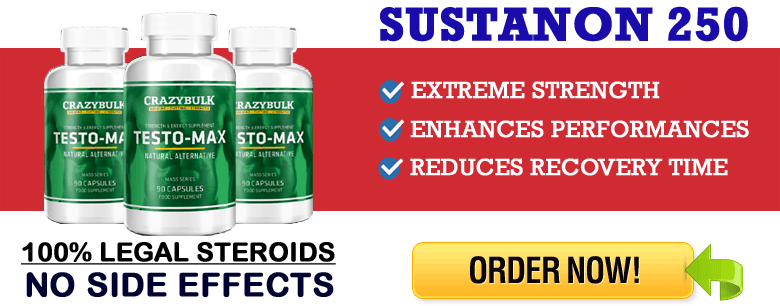 Crazy Bulk Testo Max Review - 100% Legal Sustanon 250 Pills