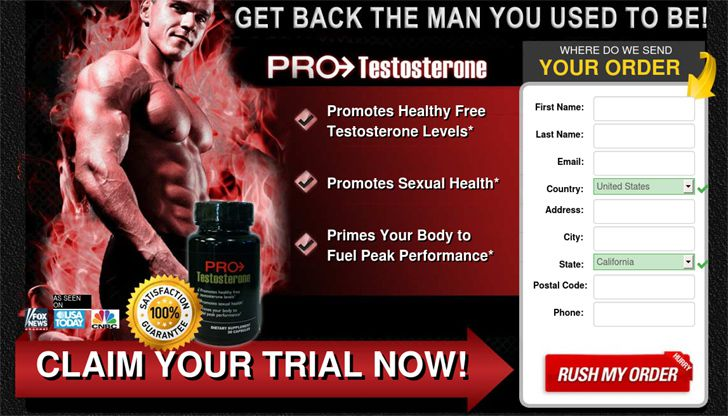 pro testosterone free trial