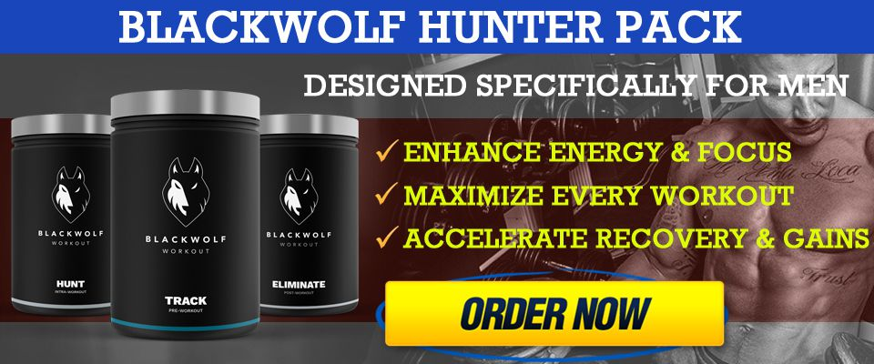 blackwolf workout supplements hunter pack for sale gnc amazon