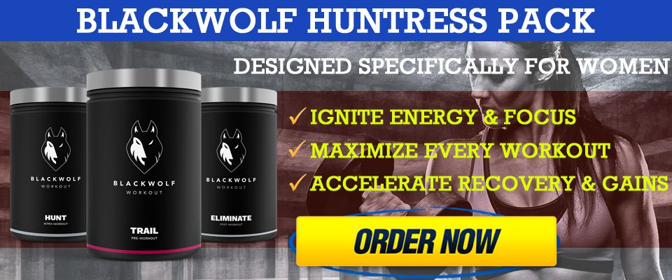 blackwolf workout huntress pack supplements for sale amazon gnc
