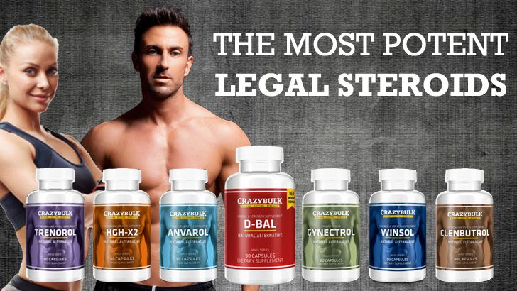 Top 7 Crazy Bulk Products In Canada 100 Legal Steroids